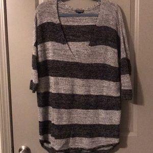 Express 3/4 sleeve sweater!